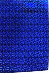 Papel Laminado Holográfico azul
