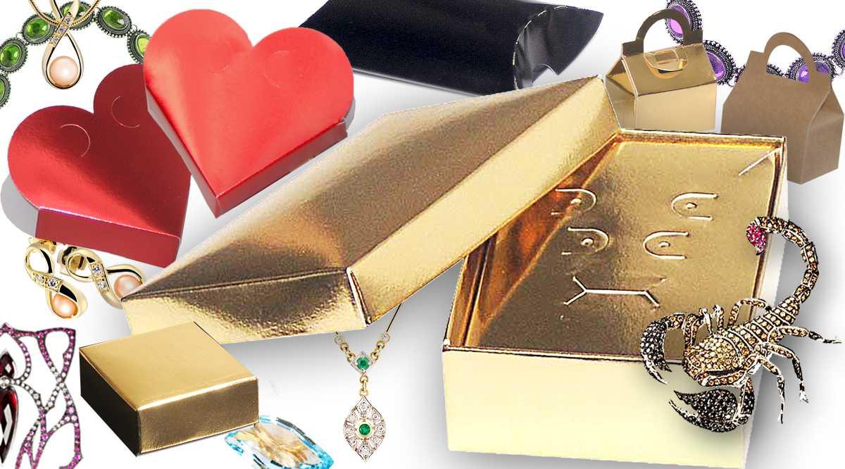 Caixas para bijuterias