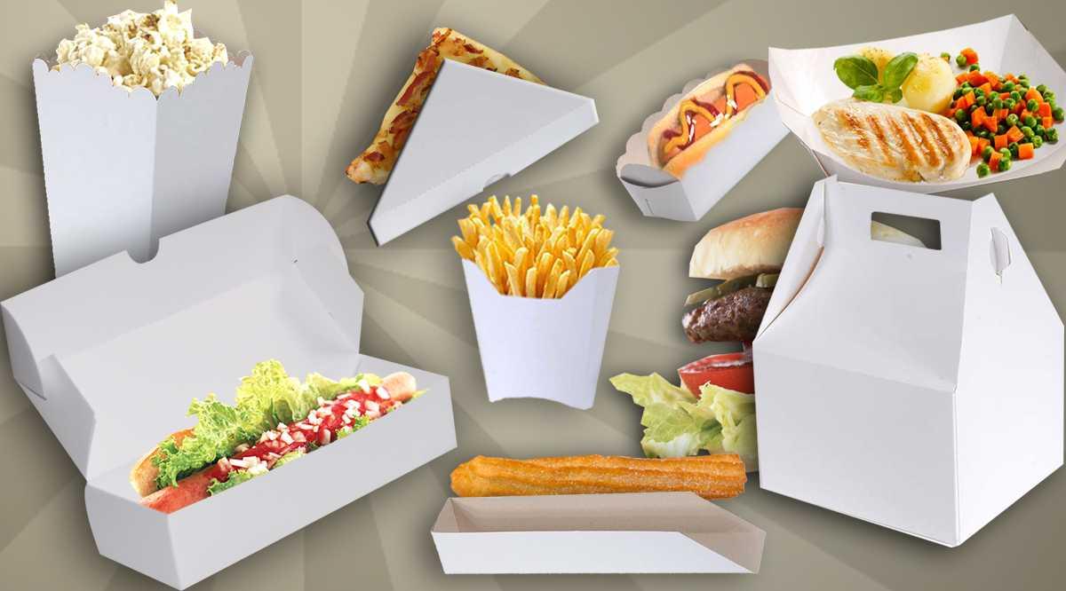 Caixas para Fast Food