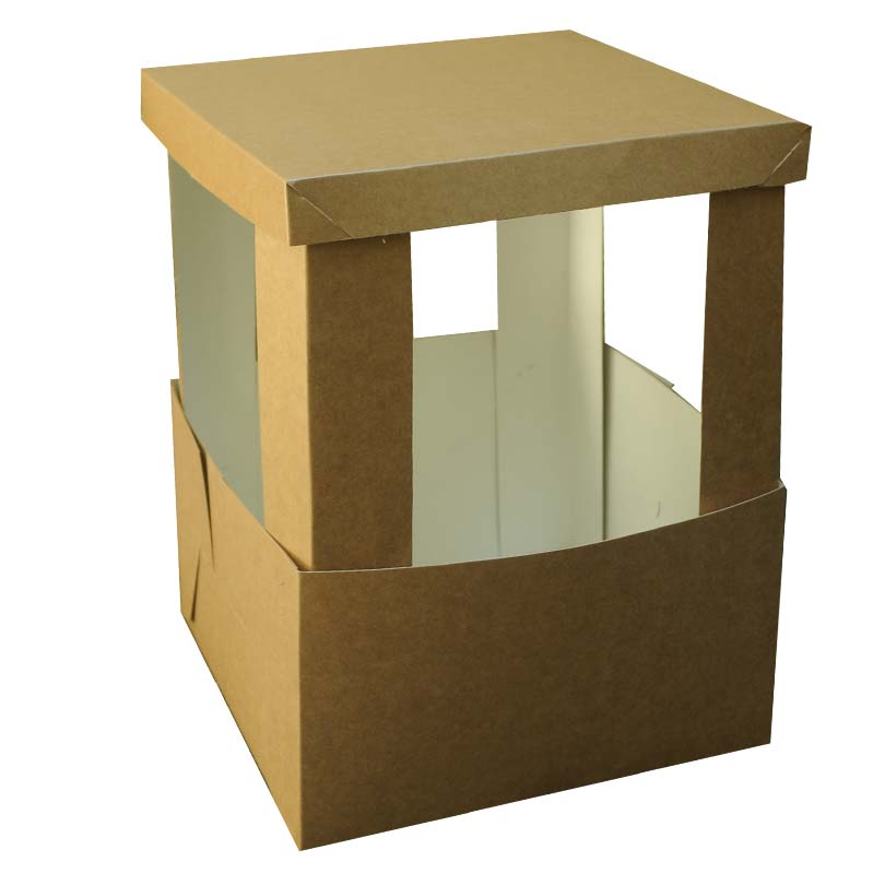 caixa bolo 2 - 27 x 27 x 35